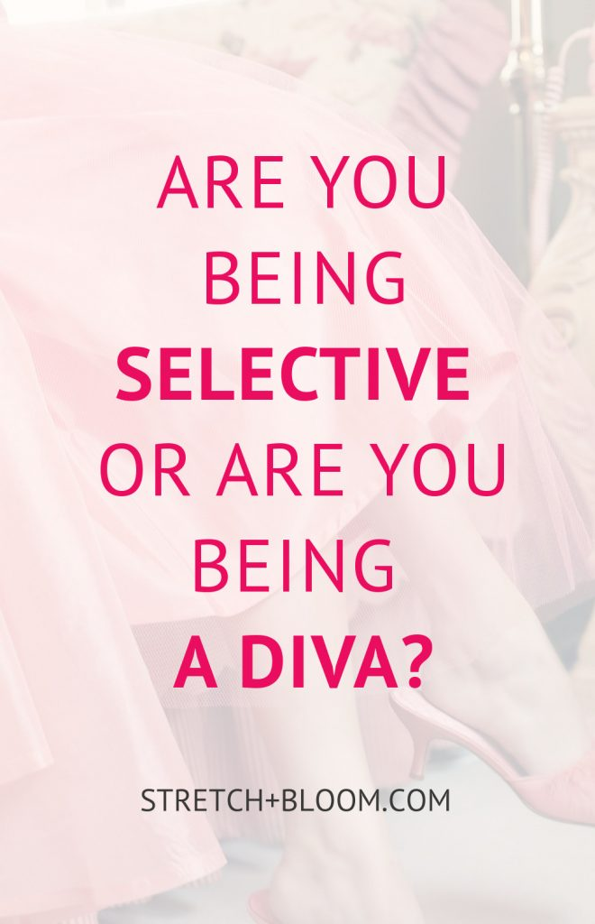 Are you being selective or are you being a diva? Some women prides in being hyper selective in their dating lives, but selection should not be a cover for being abusive. Click this pin to learn more about the difference between being selective and being a diva