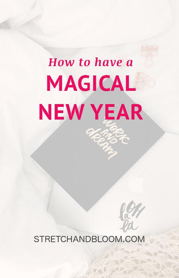 Pinterest banner: New Year's magic formula