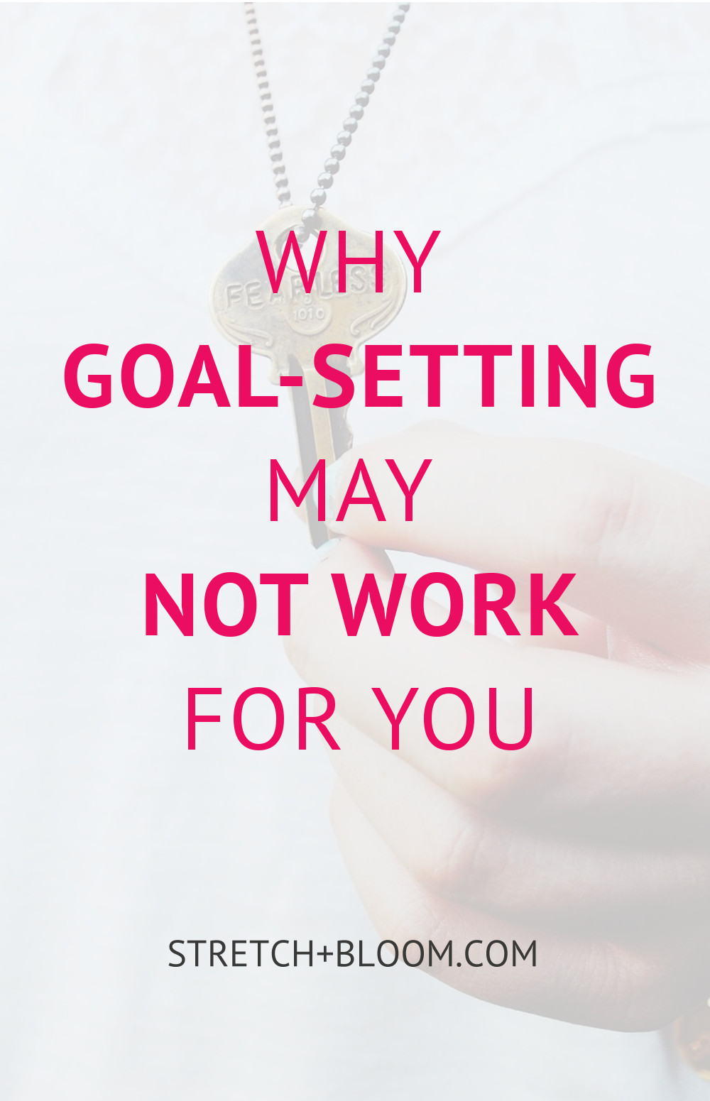 Goal-seeting is a crucial key to success. However most people are missing a crucial element to make it work for them and reap the results. It's not about resilience and willpower. The secret lies much deeper... Click the pin to learn more