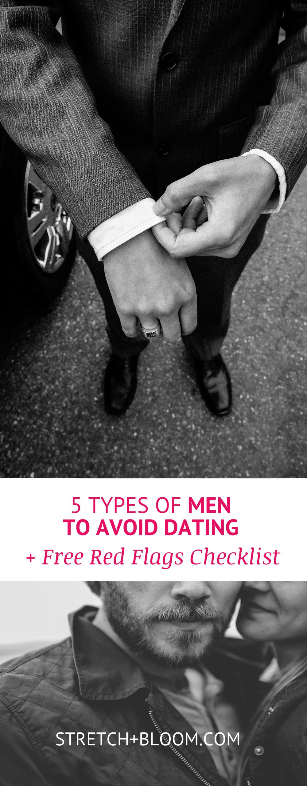 5 types of men to avoid dating + 20 dating red flag bonus