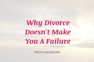 why divorce dosn't make you a failure