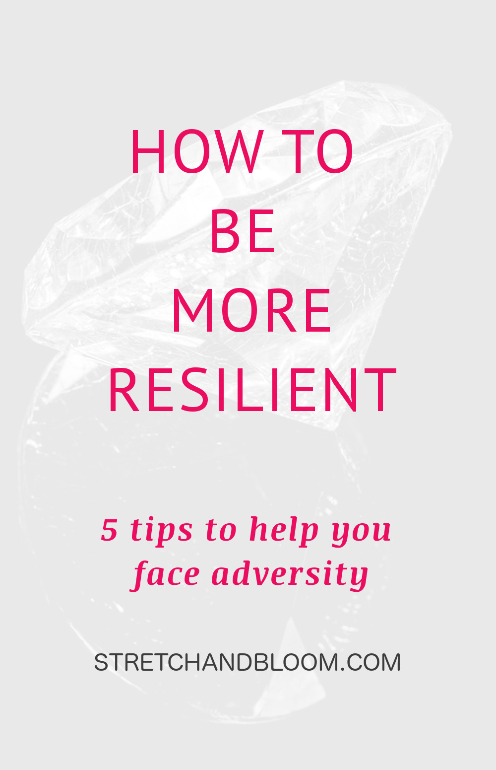 There's a time in life when things don't go your way. That's when you ask yourself how to be more resilient; This article will give you helpful tips. #resilience #mindset #motivation