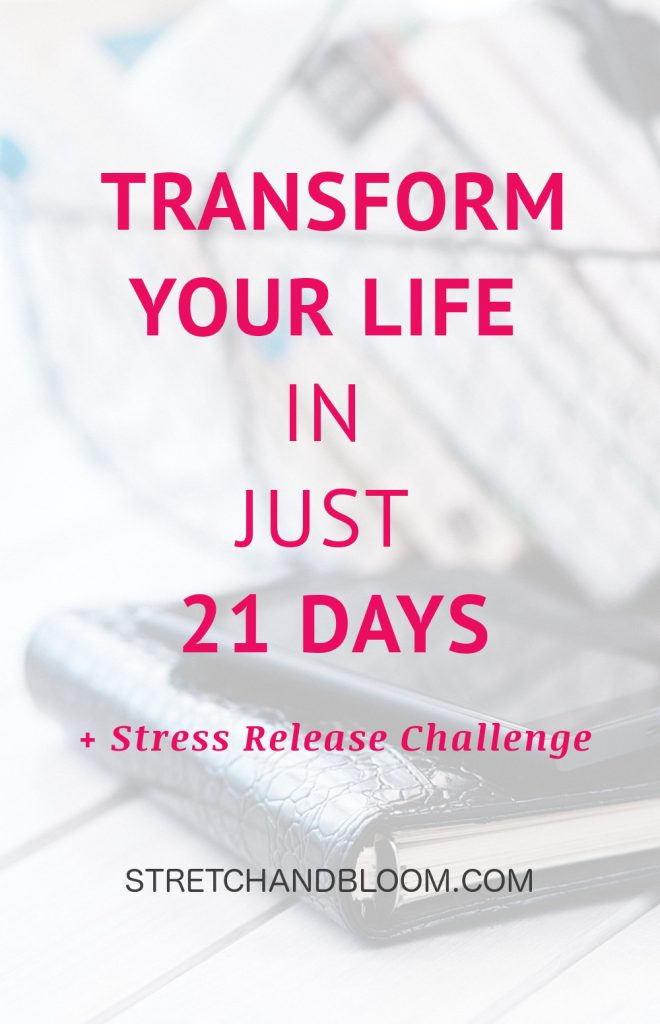 Reinventing your life is no small feat, especially when you have a huge to-do. This is why dealing with your stress should be the first step. #stress #challenge