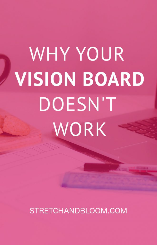 You may have tried your hand at using a vision board to bring a desire to life without much success. As a result you may have decided that vision boards don't work. This little tweak will change everything for you. #visionboard #loa #manifestation #goalsetting