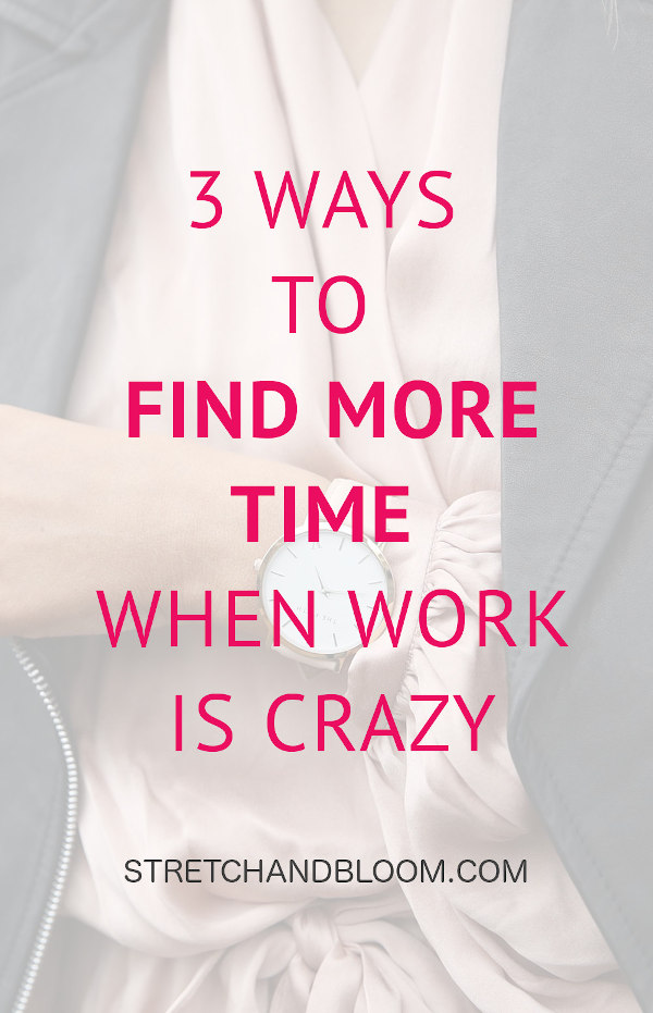 Pinterest banner: find more time for yourself when your to-do is crazy