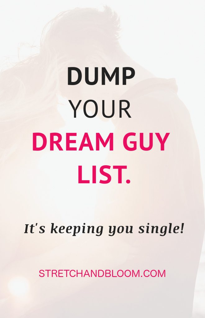 Pin title: dream man list keeping you single