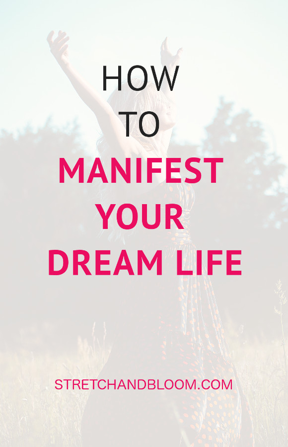 how to manifest dream life pin