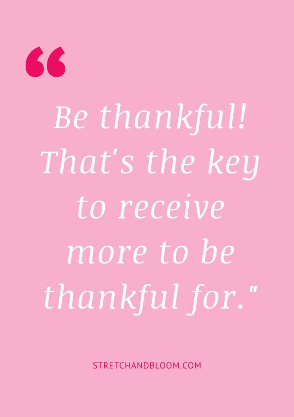 Pinterest banner: practice gratitude