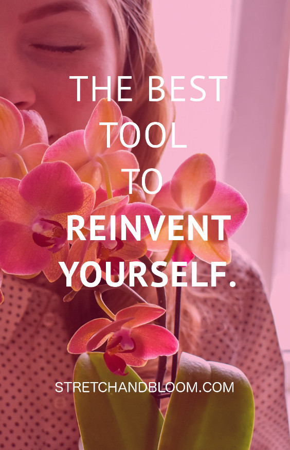pin title banner: use manifestation to reinvent yourself