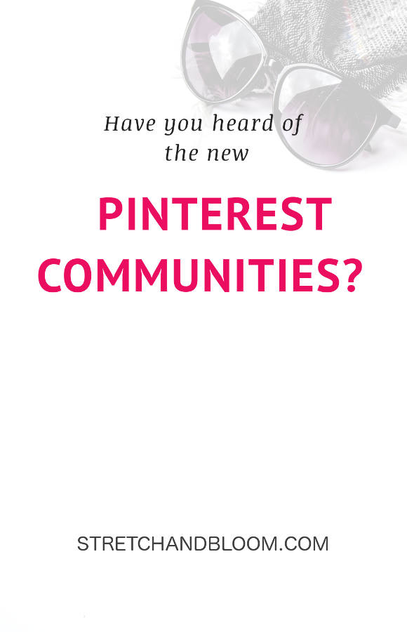 Pinterest banner: Reinvent yourself! community