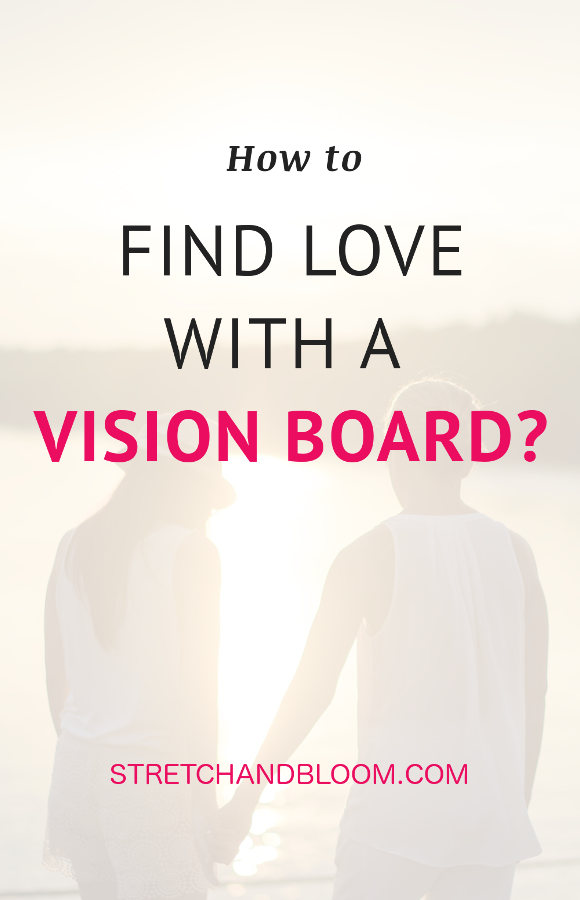 How to find love with a vision board