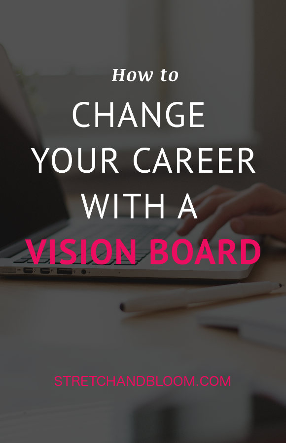 Improve your career with a vision board
