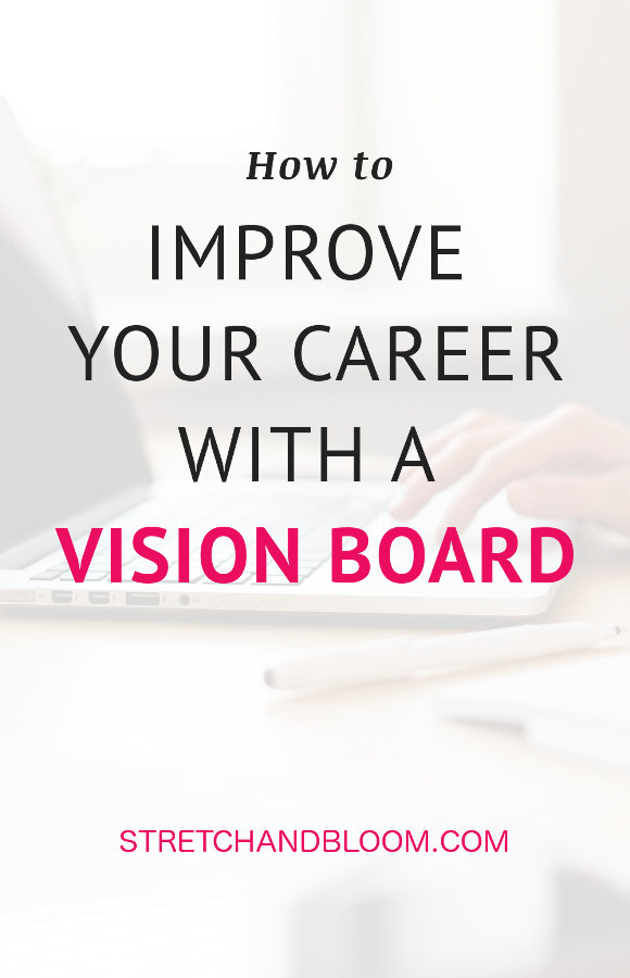 Change career with a vision board