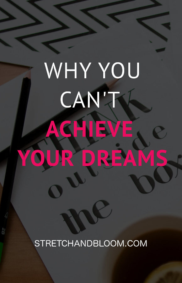 banner pinterest:the cost of not pursuing your dreams