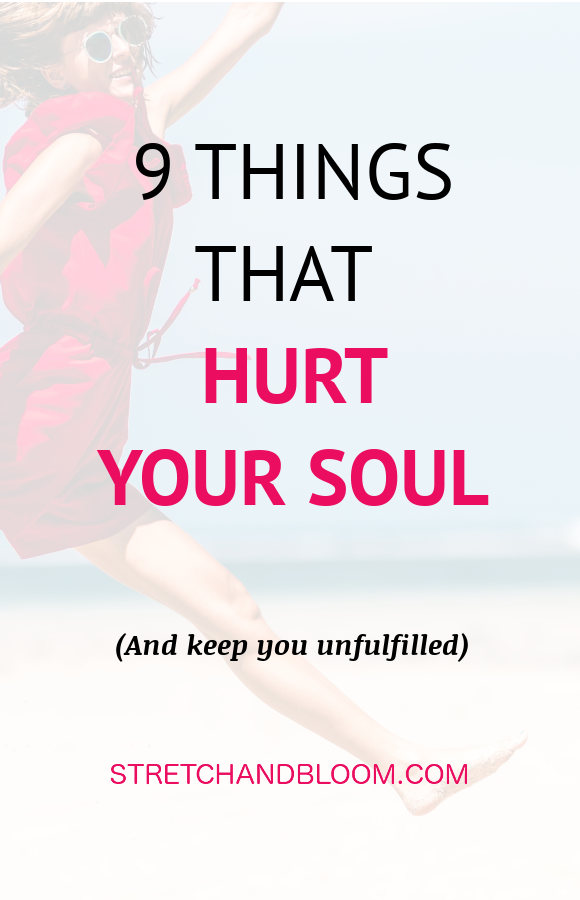 banner pinterest:9 habits that kill your soul