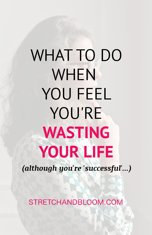 Pinterest banner: feeling lost in life