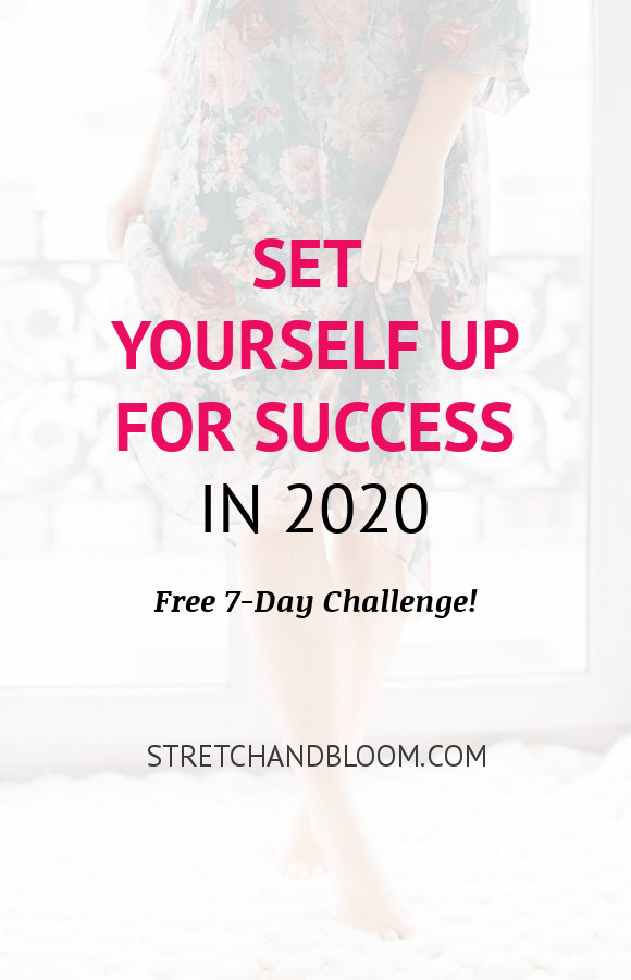 Pinterest banner: set yourself up for soulful success