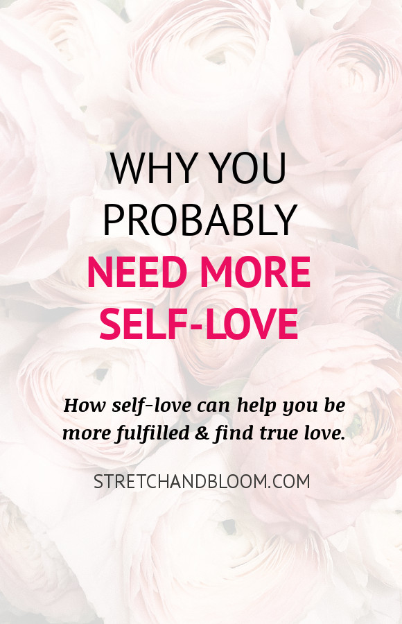 Pinterest banner: why you probably need more self-love